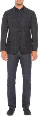 Emporio Armani Men's G Line Multi-Windowpane Sport Coat