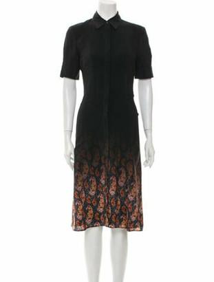 Altuzarra Silk Midi Length Dress w/ Tags Black