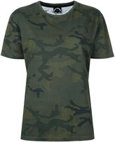 The Upside camouflage pleat T-shirt - women - Cotton - XXS