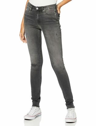 Calvin Klein Jeans Women's CKJ 011 MID Rise Skinny Straight Jeans