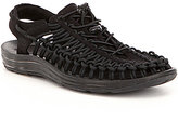 Keen Men's Uneek Secure Fit Nylon Cord Caged Slingback Sandals
