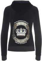 Juicy Couture Logo Velour Jc Crown Robertson Jacket