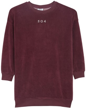 304 Velour Long Sleeve Sweatshirt