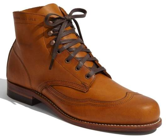 Wolverine '1000 Mile - Addison' Wingtip Boot