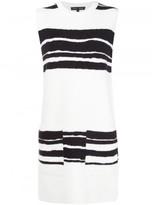 Proenza Schouler striped shift dress