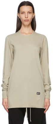 Rick Owens Grey Level Long Sleeve T-Shirt