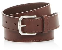 HUGO BOSS Tonal Stitch Leather Belt