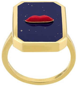 Eshvi Enamelled Ring