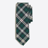 J.Crew Factory Heathered plaid tie
