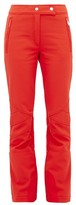 Toni Sailer Sestriere Flared Ski Trousers - Womens - Red