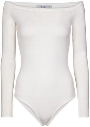 Gabriela Hearst Klara wool and silk bodysuit