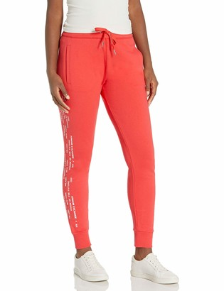 Ax Armani Exchange A|X Armani Exchange Women's Recycle Cotton Logo Tape Stripe Sweatpant