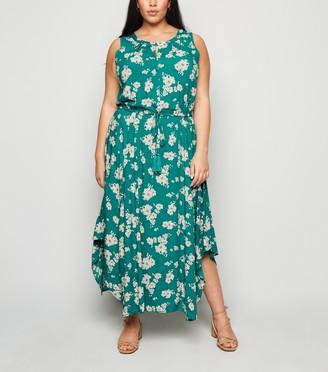 New Look Curves Floral Midi Dress