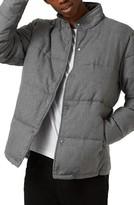 Topman Men's Quilted Jacket