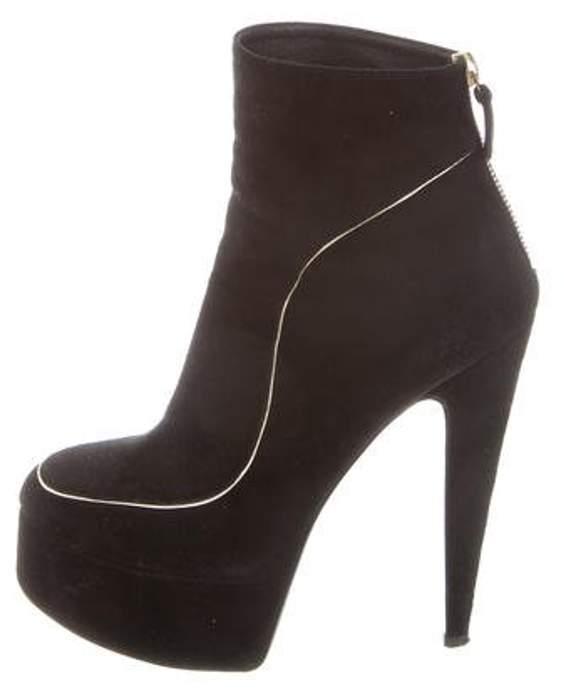 Laurence Dacade Platform Ankle Boots Black Platform Ankle Boots