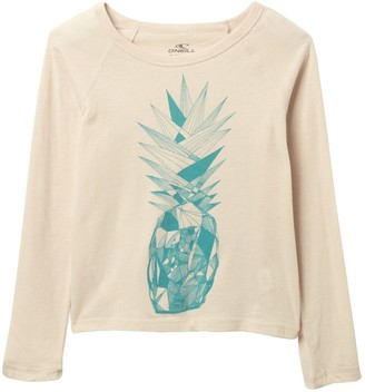 O'Neill Pineapple Wave Long Sleeve Top (Big Girls)
