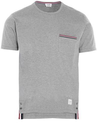 Thom Browne Crewneck Pocket T-Shirt