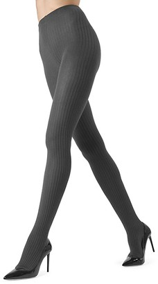 Me Moi Ribbed Sweater Tights