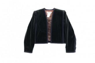 Saint Laurent Green Velvet Jackets