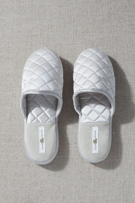 Kumi Kookoon Quilted Silk Slippers