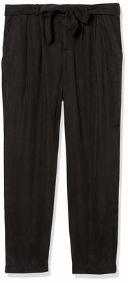 Three Dots Women's All Weather Twill Loose Long Pant