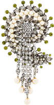 Etro pearl and crystal brooch