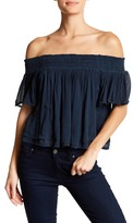 Anama Smocked Off-the-Shoulder Blouse