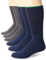 Ecco Men's 6 Pack Comfy Twisted Yarn Sock