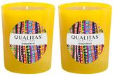 Qualitas Candles Grapefruit Beeswax Candles (Set of 2) (6.5 OZ)