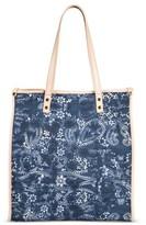 Mossimo Women's Printed Tote Handbag Blue