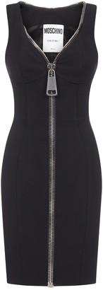 Moschino Zip Pencil Mini Dress