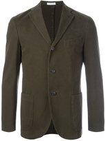 Boglioli patch pocket blazer jacket - men - Cotton/Spandex/Elastane/Cupro - 56