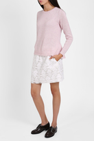 Paul & Joe Sister Geometric Lace Mini Skirt