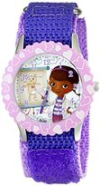 Disney Kids' W001932 Doc McStuffins Analog Display Analog Quartz Purple Watch