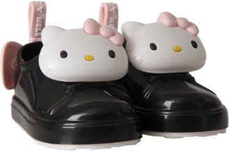Melissa Black Girl Shoes With Hello Kitty