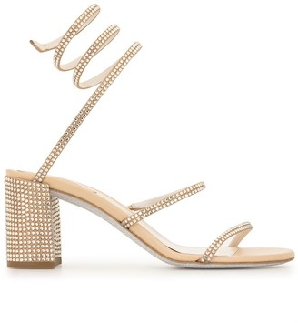 Rene Caovilla Cleo mid-heel sandals