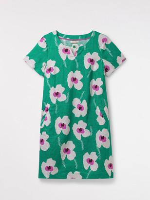 White Stuff Sprig Linen Dress