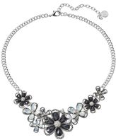 Dana Buchman Black Flower Necklace