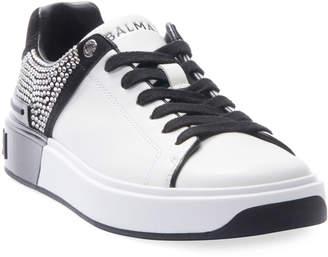 Balmain B Court Crystal Sneakers