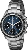 Omega Men's 326.30.40.50.03.001 Speed Master Racing Analog Display Swiss Automatic Silver Watch