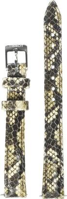 Tissot Leather Calfskin Multicolor Watch Strap 12mm Width (Model: T600037890)