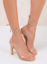 Therapy Nude Suede Balboa Heels