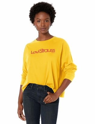 Levi's Women's Graphic Long Sleeve Tee Shirt