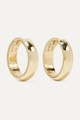 Jennifer Meyer Wide Huggies 18-karat Gold Earrings - one size
