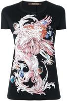 Roberto Cavalli dragon print T-shirt - women - Modal - 40