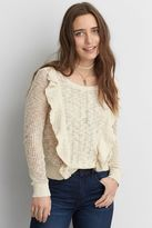 American Eagle Outfitters AE Crew Neck Pullover Top