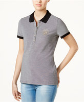 Tommy Hilfiger Cotton Polo Top, Only at Macy's