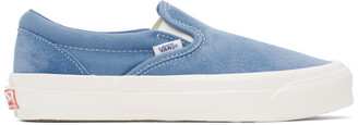 Vans Blue Suede OG Classic Slip-On Sneaker