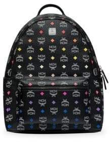 MCM Men's Spektrum Stark Visetos Backpack - Black