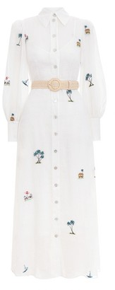 Zimmermann Kirra Patches Shirt Dress